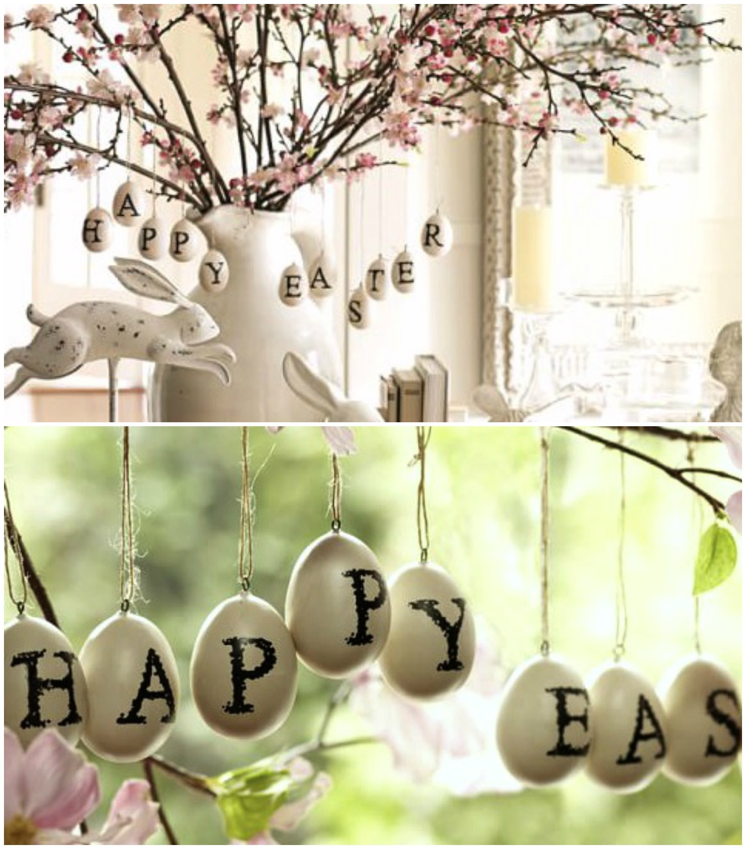 Pottery Barn Inspired Easter Eggs And Then Home