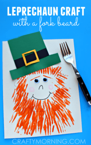 craftymorning-leprechaun-craft-with-a-fork-beard