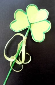 St. Patrick's Day Shamrock Magic Wand