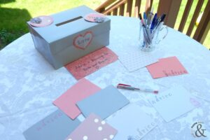 Bridal Shower Advice Game and Keepsake