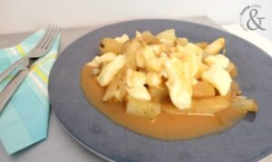 Traditional Poutine with Homemade Gravy Recipe