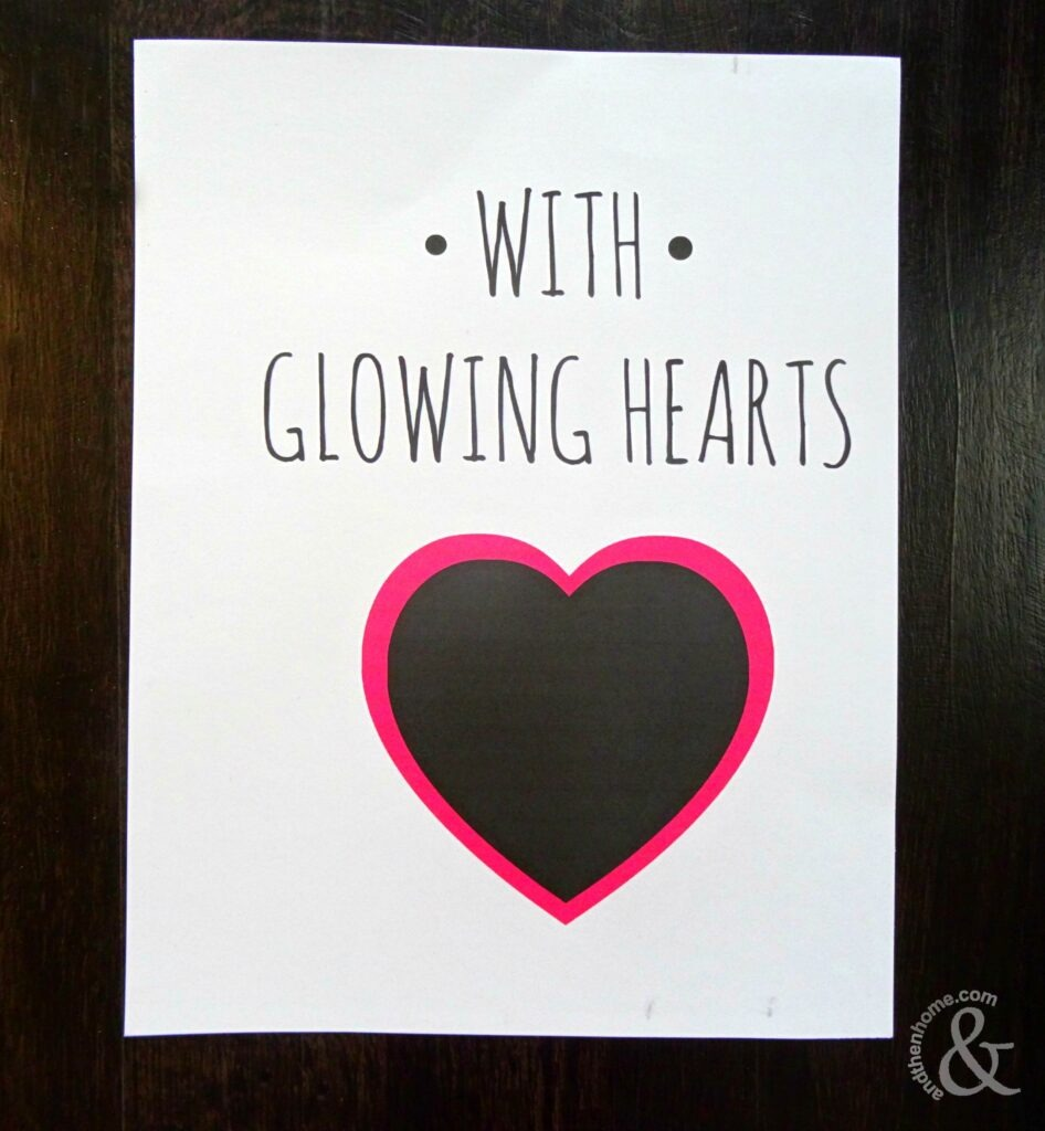 glowing-hearts-frame-step-one