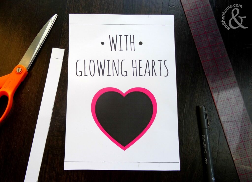 glowing-hearts-frame-step-two