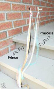 Easy Prince and Princess Ribbon Wand