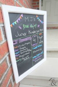 Back to School Chalkboard 5