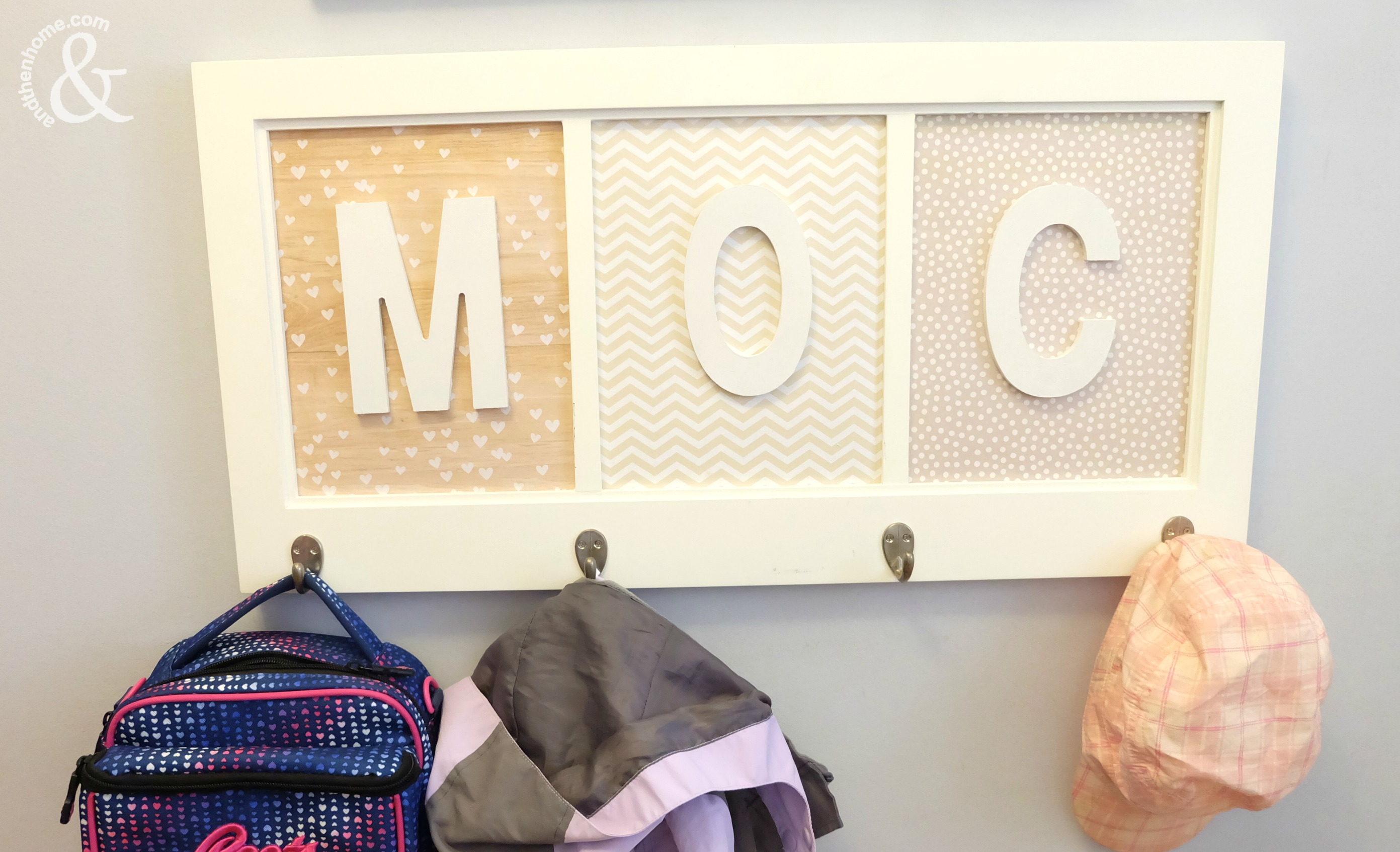 Fabulous DIY Kids Coat Rack