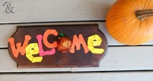 Fun Fall Welcome Decor Sign