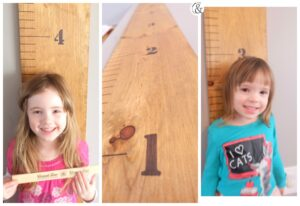 DIY Easy Growth Chart
