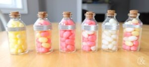 DIY Mini Candy Favour Jars