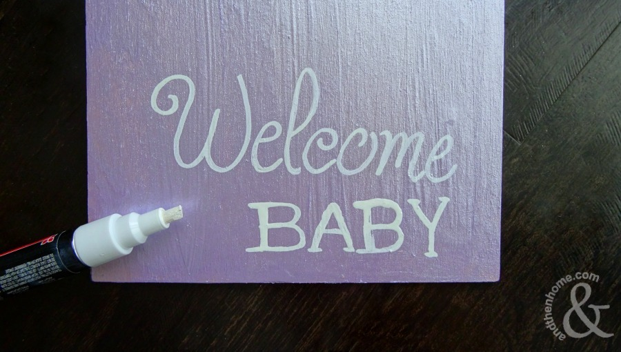 welcome-baby-flower-sign-step-two