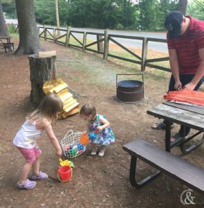 Camping with Kids And Then Home