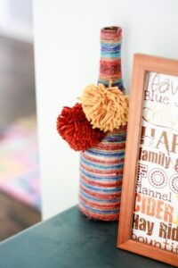 10 Fun and Easy Yarn Craft Ideas And Then Home