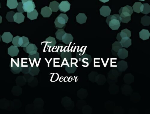Trending New Year's eve Decor