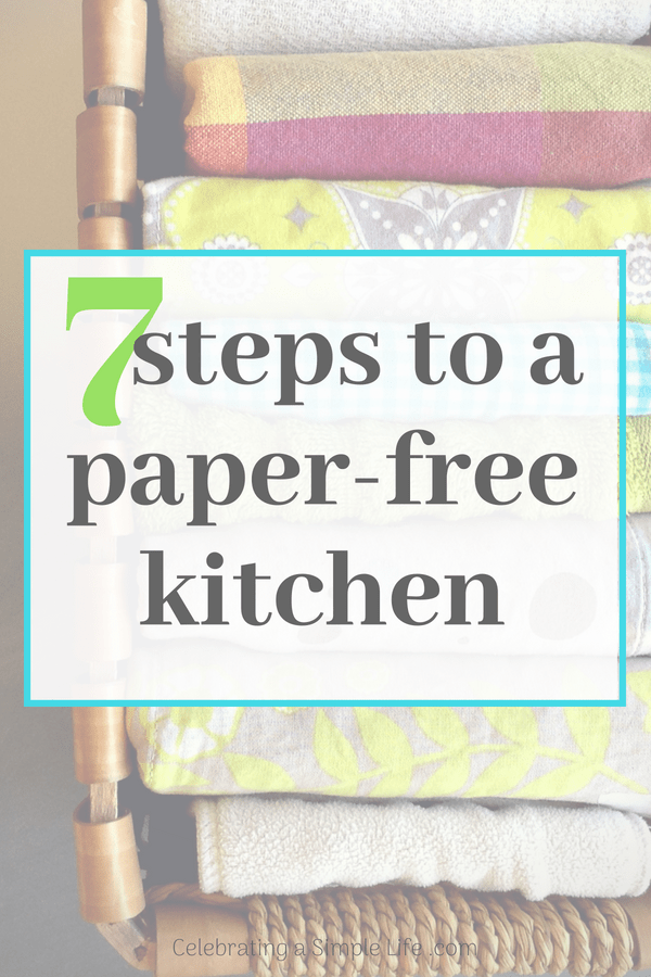 7 Steps to a Paper Free Kitchen - Salt in My Coffee