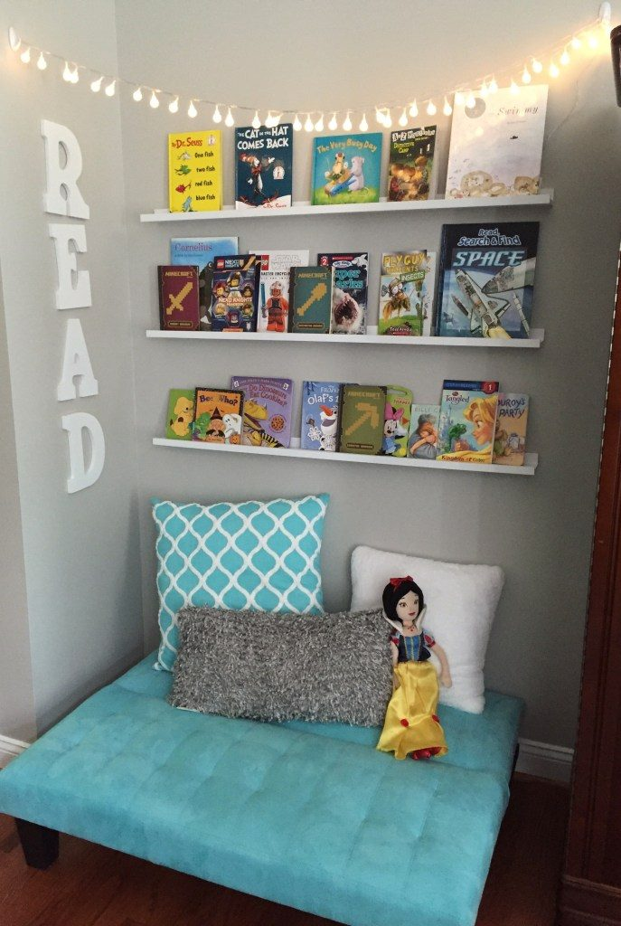 Creating a Reading Nook - Glitter on a Dime