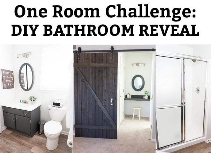 DIY Bathroom Remodel Reveal- Farmhouse Master Bathroom - Mom Envy