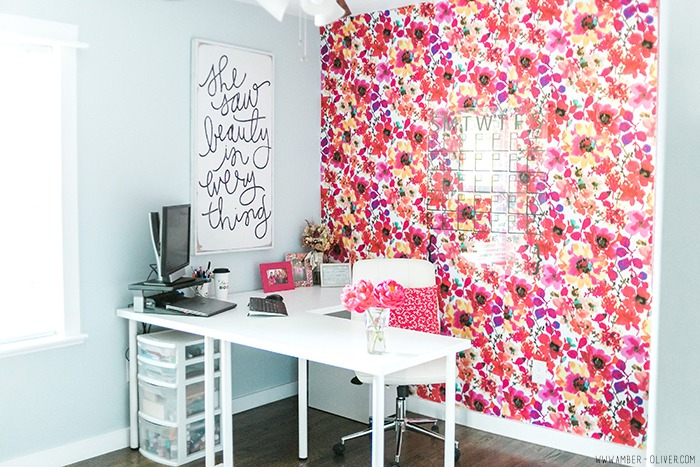 One Room Challenge: Office Reveal - Amber Oliver