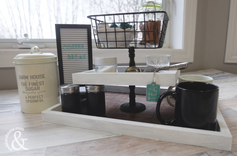 Easy DIY Coffee Bar Station Idea