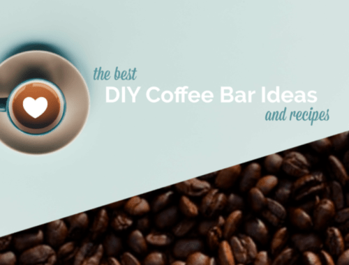 The Best DIY Coffee Bar Ideas and Recipes