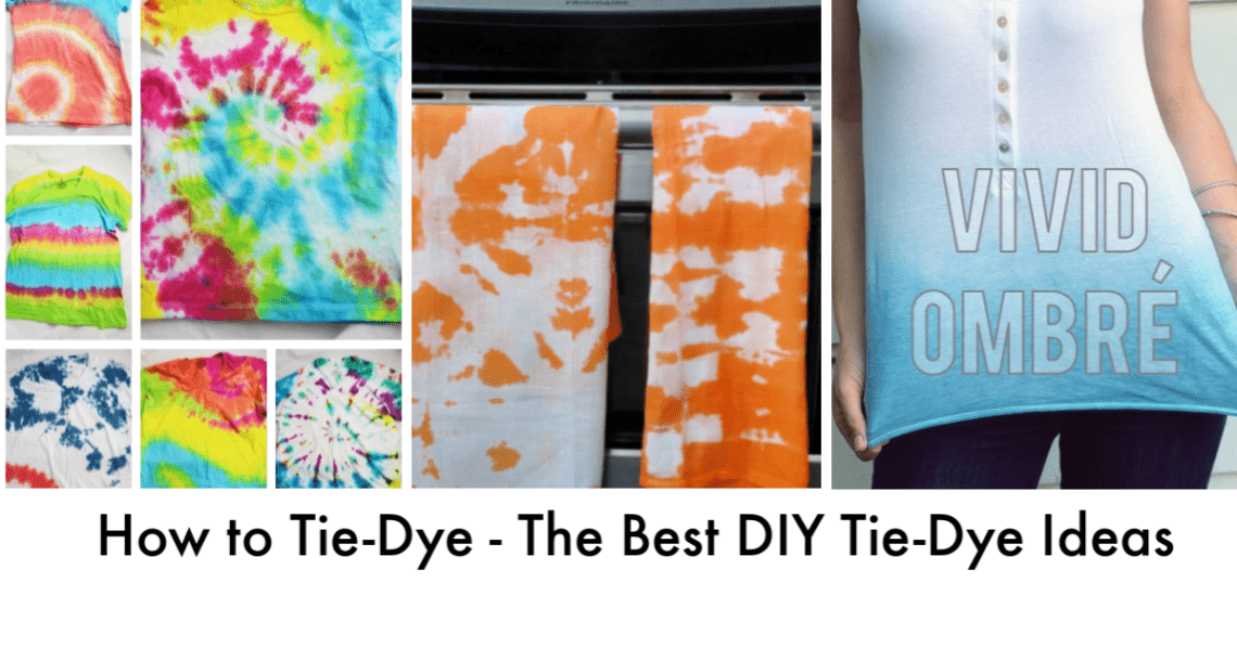 408bd9f4e8f89 How to Tie-Dye - The Best DIY Tie-Dye Ideas - And Then Home