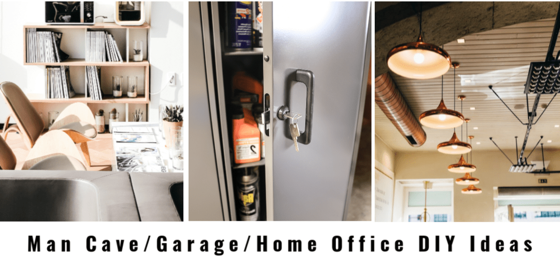 Man Cave Garage Home Office Diy Ideas And Then Home