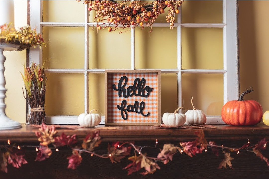 Hello Fall Decorating Ideas by And Then Home
